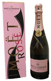 Moet & Chandon Champagne Brut Rose Imperial 750ml